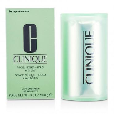 Clinique - Facial Soap Mild With Dish 100g/3.5oz