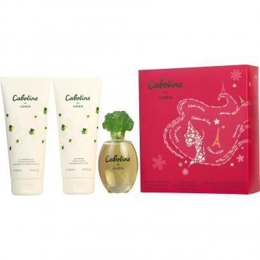 Cabotine - Eau De Toilette Spray 3.4 oz And Body Lotion 6.7 oz And Shower Gel 6.7 oz
