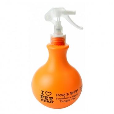 Pet Head Dog Bff Tangle Fix Spray - Strawberry Yogurt - 15.2 oz