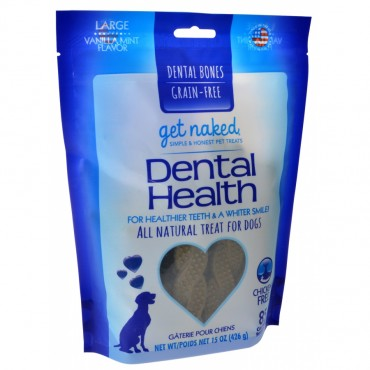 Get Naked Grain Free Dental Health Bones - Large - 15 oz