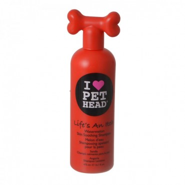 Pet Head Life's an Itch Skin Soothing Shampoo - Watermelon - 16.1 oz - 475 ml - 2 Pieces