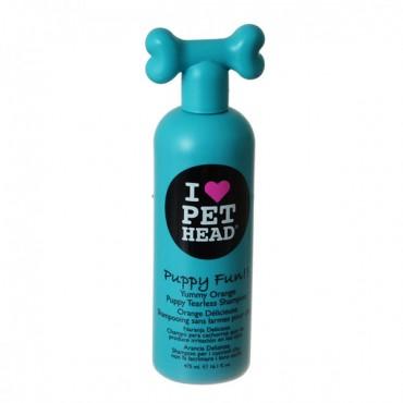Pet Head Puppy Fun Puppy Tearless Shampoo - Yummy Orange - 16.1 oz - 475 ml - 2 Pieces