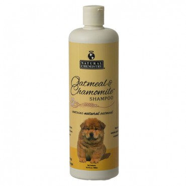 Natural Chemistry Natural Oatmeal and Chamomile Shampoo - 16 oz - 2 Pieces