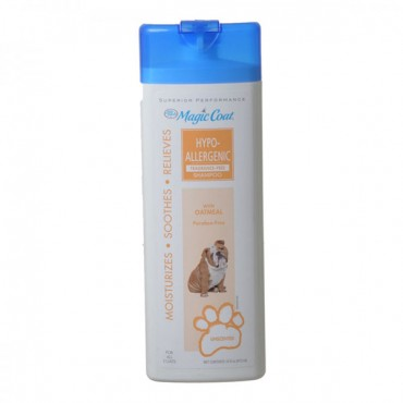 Magic Coat Hypo-Allergenic Fragrance Free Shampoo with Oatmeal - 16 oz - 2 Pieces
