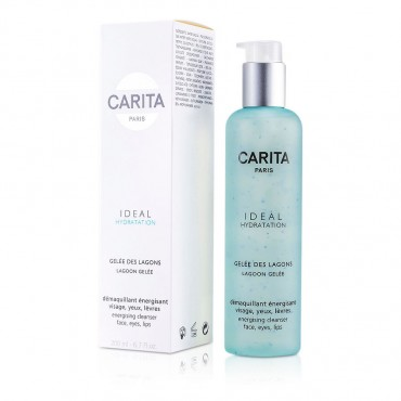 Carita - Ideal Hydration Lagoon Gelee Energising Cleanser For Face Eyes And Lip 200ml/6.7oz