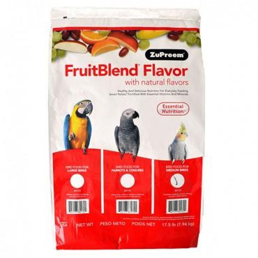 ZuPreem FruitBlend Flavor Bird Food for Medium Birds - 17.5 lbs