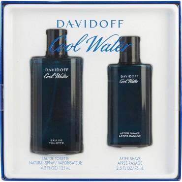 Cool Water - Eau De Toilette Spray 4.2 oz And Aftershave 2.5 oz