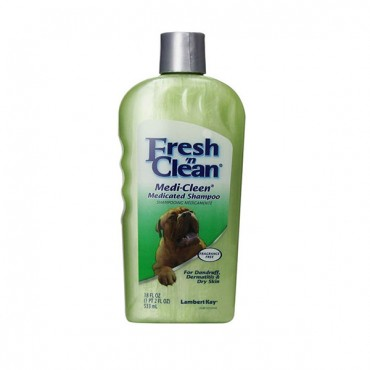 Fresh 'n Clean Medi-Clean Medicated Shampoo - 18 oz - 2 Pieces