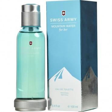 Swiss Army Mountain Water - Eau De Toilette Spray 3.4 oz