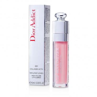 Christian Dior - Dior Addict Lip Maximizer  Collagen Activ Lipgloss  001 Pink 6ml 0.2oz
