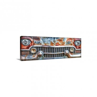1950's Cadillac Fleetwood Front Wall Art - Canvas - Gallery Wrap