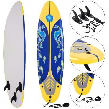 6 Ft. Surf Foamie Boards Surfing Beach Surfboard