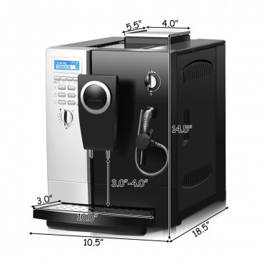 Super - Automatic Espresso Maker Machine With Milk Frother