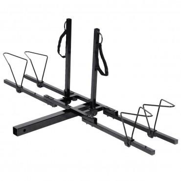 2 In. Heavy Duty 2 Bicycle Hitch Mount Carrier