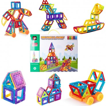 Magical Tiles Set Building Block Preschool Educational Construction Toy
