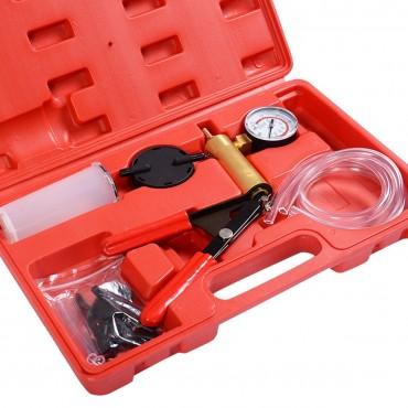 2 In1 Brake Bleeder Bleeding And Vacuum Pump Tester Kit Professional Automotive