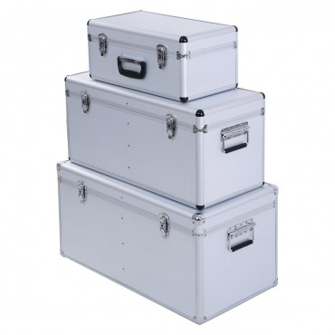 3-Piece DIY Tool Box Set Storage Large Middle Small Work Tools Garage Workshop