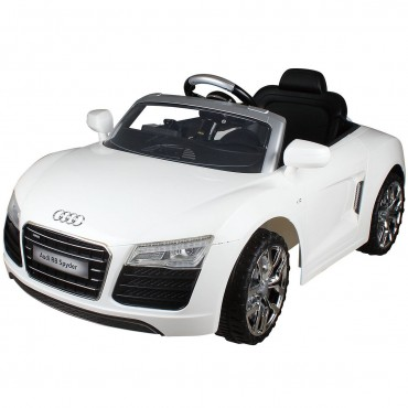 12 V 2 Colors Audi R8 Spyder Kids Car W / MP3+RC