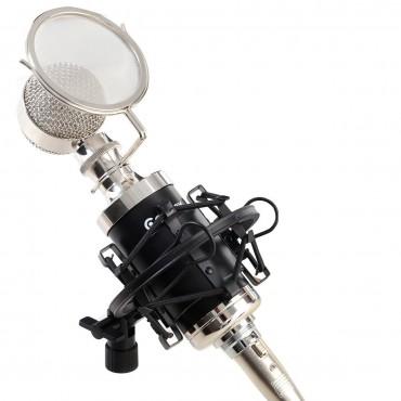 Professional Studio Recording Condenser Microphone W / Shock Mount