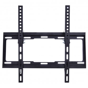 LCD LED Plasma Flat Tilt TV Wall Mount Bracket 26 27 32 37 40 42 46 47 50 55 In.
