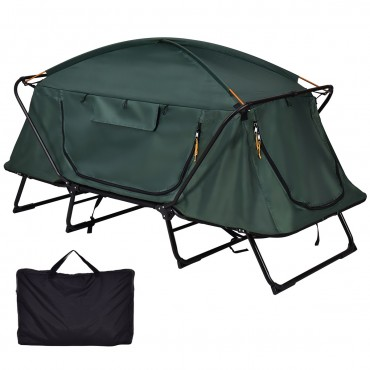Folding Waterproof 1 Person Camping Tent W / Carrying Bag