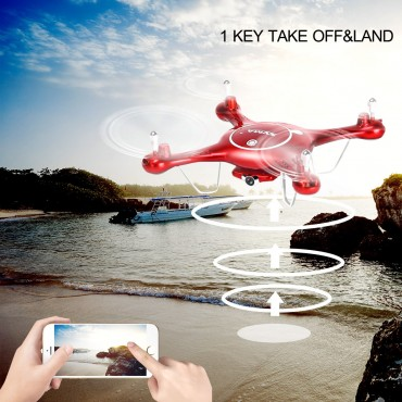Syma X5UW 2.4G 4CH Wifi FPV RC Quadcopter With 720P HD Camera