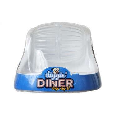 Petmate Diggin Diner Dog Feeder - 1 Pack - 2 Cup Capacity