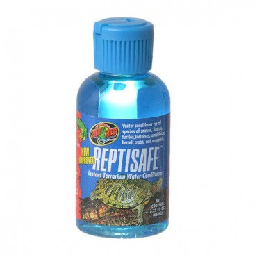 Zoo Med ReptiSafe Water Conditioner - 2.25 oz - 5 Pieces