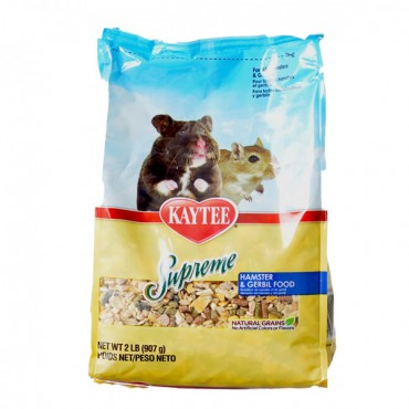 Kaytee Supreme Hamster and Gerbil Food - 2 lbs - 2 Pieces