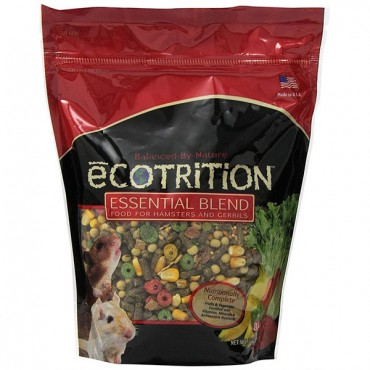 Ecotrition Essential Blend Diet for Hamsters and Gerbils - 2 lbs - 2 Pieces
