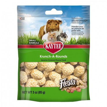 Kaytee Fiesta Krunch-A-Rounds - Small Animals - 2 oz