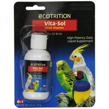 Ecotrition Vita-Sol for Birds - 2 oz - 2 Pieces