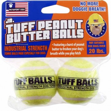 Petsport USA Jr. Peanut Butter Balls - 2 Pack - 4 Pieces
