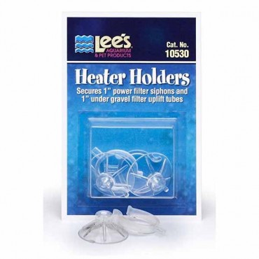 Lees Heater Holders Suction Cups - 2 Pack - 5 Pieces