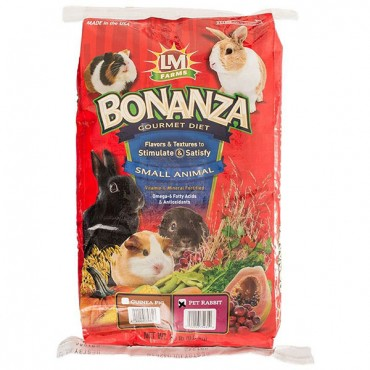 LM Animal Farms Bonanza Rabbit Gourmet Diet - 20 lbs