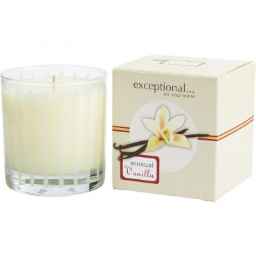 Vanilla Sensual Limited Edition - Sensual Vanilla Scented 6 oz Tapered Glass Jar Candle