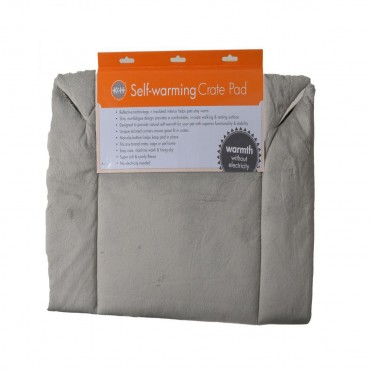 K and H Self-Warming Crate Pad - Gray - 21 Long x 31 Wide