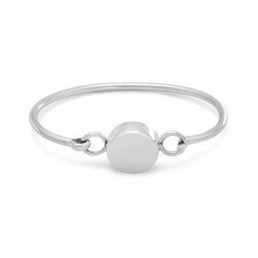 4.5 in. - 5 in. Round Engravable Bangle