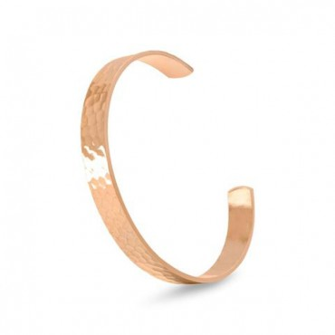 9.5 mm Hammered Solid Copper Cuff