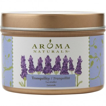 Tranquility Aromatherapy - One 2.5x1.75 Inch Tin Soy Aromatherapy Candle