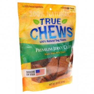 True Chews Premium Jerky Cuts with Real Duck - 22 oz