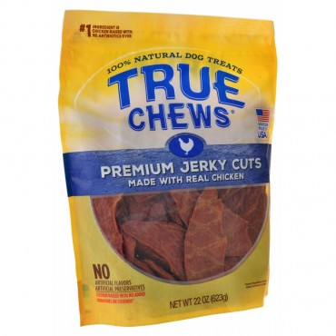 True Chews Premium Jerky Cuts with Real Chicken - 22 oz