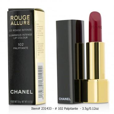 Chanel - Rouge Allure Luminous Intense Lip Colour  102 Palpitante 3.5g 0.12oz
