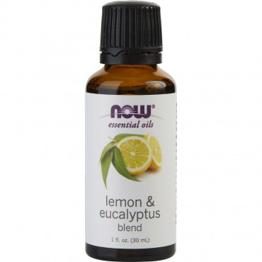 Essential Oils Now - Lemon And Eucalyptus Oil 1 oz