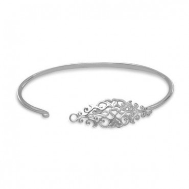 Ornate Cut Out Design Bangle