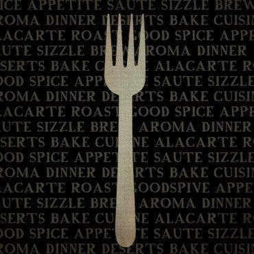 Kitchen Words With Fork