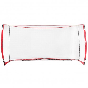 6 Ft. / 8 Ft. / 12 Ft. Durable Bow Style Soccer Goal Net with Bag