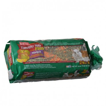 Kaytee Timothy Hay Plus Mangos - Small Animals - 24 oz