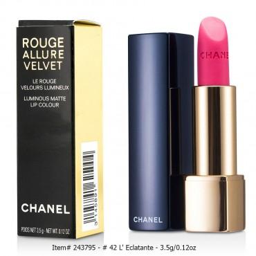 Chanel - Rouge Allure Velvet  37 L' Exuberante 3.5g 0.12oz
