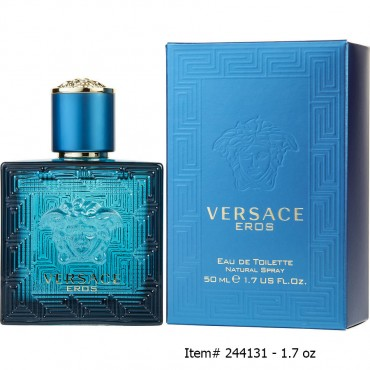 Versace Eros - Eau De Toilette Spray 1.7 oz